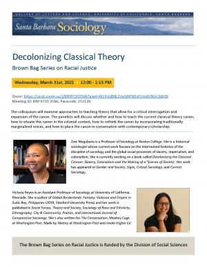 Decolonizing Classical Theory